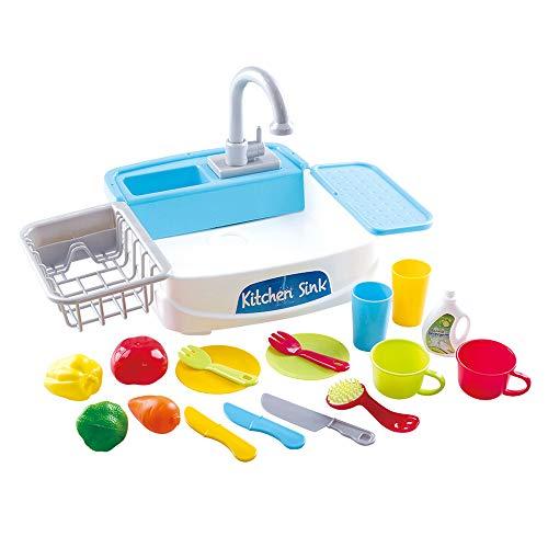 PlayGo - Fregadero eléctrico con accesorios (46415)