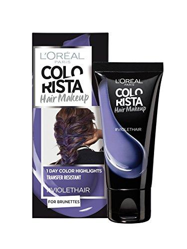 L'Oréal Paris - Colorista Hair Makeup - Colorazione per capelli, colorazione temporanea, per brunette, 30 ml, confezione da 2