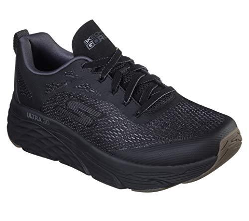Skechers Men's Max Cushioning Elite Vivid-Performance Walking & Running Shoe Sneaker, Black, 10.5 D US