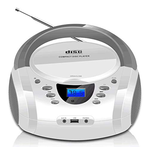 LONPOO CD Player Portable Boombo...