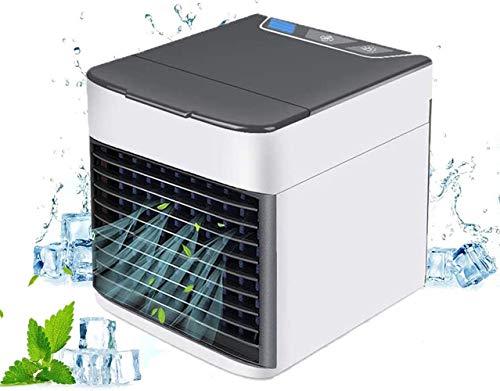 CICADAS - Dispositivo de aire acondicionado portátil mini 3 en 1 (aire acondicionado, aire acondicionado USB, silencioso y eficiente energéticamente para el hogar, la oficina, el espacio