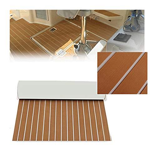 Toogou Eva - Foam Boat - Almohadilla de Cubierta de Piso para Bricolaje, tapete Marino de Teca sintética para embarcaciones