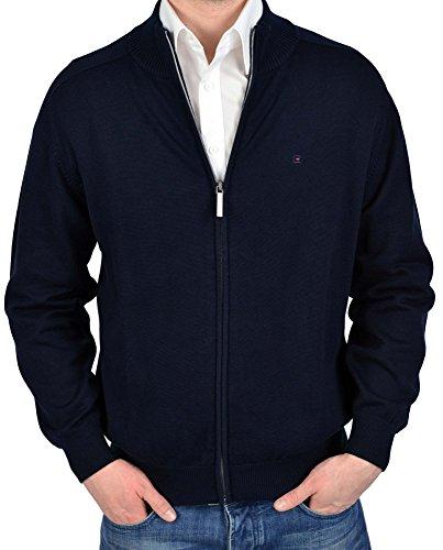 Casa Moda 4250-135 Cardigan en tricot Bleu foncé Taille XXXL