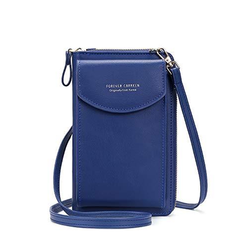 Asge Leather Purse Women's Purse Small Purse Mobile Phone Mini Bag Elegant...