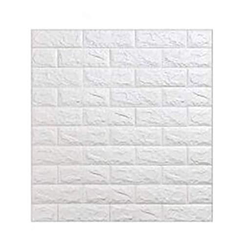 5 piezas 77 * 70cm 3D Pegatinas de pared (brick)