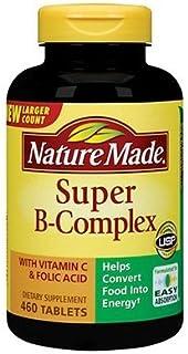 NatureMade莱萃美 Super B 超级维生素B群+维他命C 460片