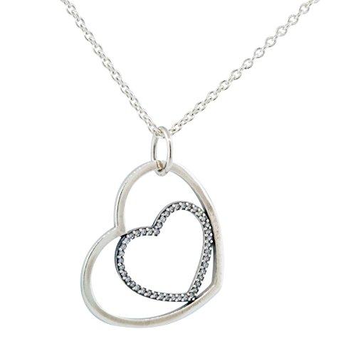 Pandora Women's Heart to Heart Necklace