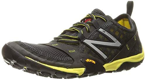 New Balance Men's Minimus 10 V1 Trail Running Shoe, Grey/Orange, 10.5 M US