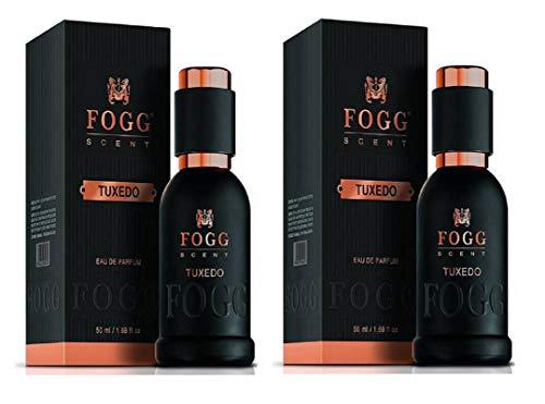 Fogg Scent Tuxedo EDP Perfume for Men Pack of 2 (50ML each) 100ML