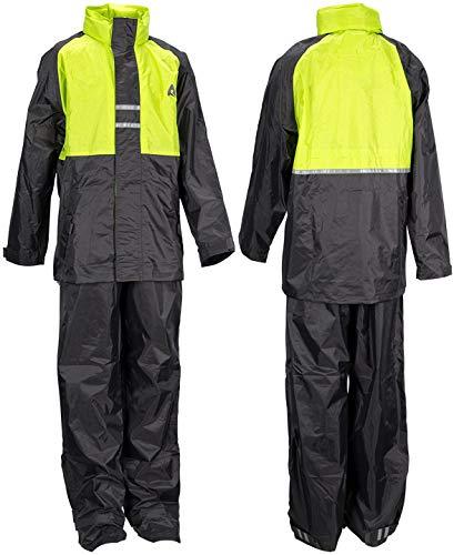 Ralka 43SF Vêtements de Pluie Enfant, Vert Citron/Anthracite, Size 164