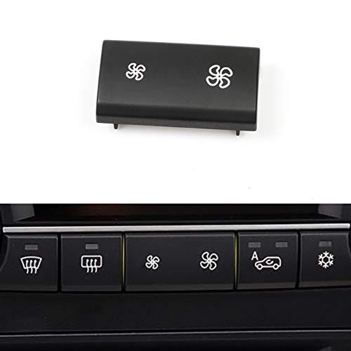 Moonlinks Fan Speed Button Replacement AC Heater Control Fan Switch Button Cap for BMW X5 E70 2006-2013 /BMW X5 E70 LCI 2009-2013, X6 E71 2007-2014?1 Piece?
