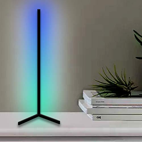 JAKROO RGB Lámpara de Escritorio, Minimalista Moderna Cambio de Color Luz Nocturna Lámpara de Aprendizaje para Adecuado para Dormitorio Sala de Estar y Lámpara