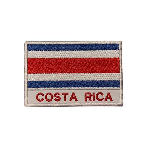Real Empire Parche Bordado Bandera Nacional Costa