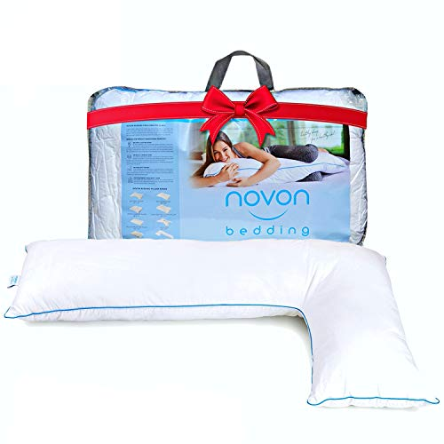 Full Body Pillow, Adjustable L Shaped Side Sleeper...