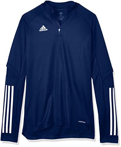 adidas CON20 TR Top W Sweatshirt, Mujer, Team Navy Blue, M