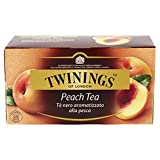 Peach Flavor / Peach Flavored Black Tea - Twinings Peach Tea 25 tea bags - 50 gr