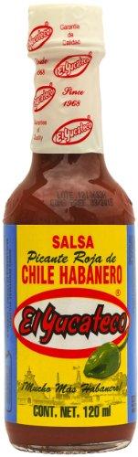 El Yucateco – Red Habanero Hot Sauce (Salsa Picante de Chile Habanero) – 120ml
