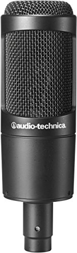 Audio-Technica AT2035 Microphone bundle with Knox Gear Pop Filter, Boom Arm and XLR Cable