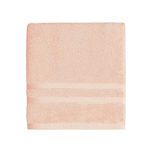 Senseï la Maison du Coton Drap De Bain Sensilk - Couleur - Poudre, Taille - 100x150