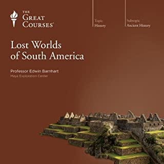 Lost Worlds of South America cover art