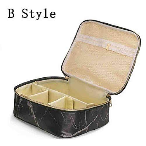 OYHBGK Nueva maleta de maquillaje profesional de moda femenina para estuche de...