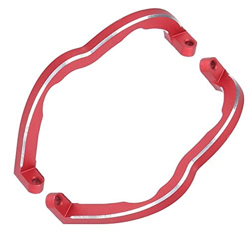 Surebuy Paraurti, paraurti in Lega di Alluminio con Protezione Efficace per Combo FPV(Rosso)