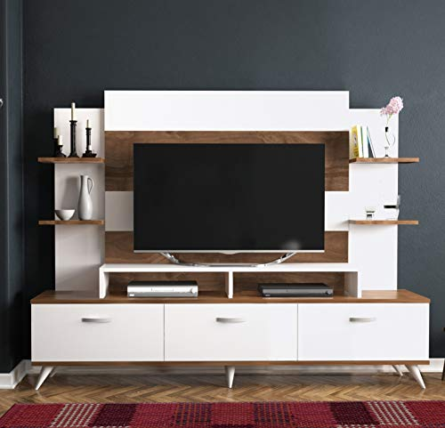 Decorotika - Diana TV Stand and Entertainment Center - Living Room Furniture
