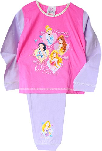 Original von Disney Princess Baby Pyjama Schlafanzug Set Shirt Hose (2-3J. 92/98)