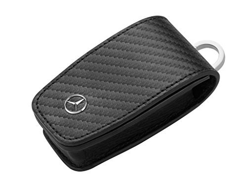Mercedes-Benz Schlüsseletui, schwarz Carbon Gen.6