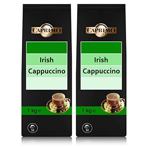 2x Caprimo Irish Cappuccino Kakaogetränkepulver 1 kg - Aromatisiertes Instant