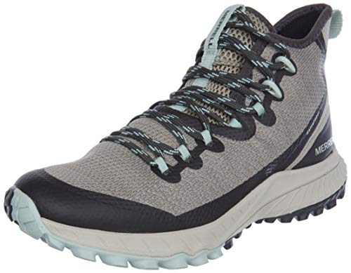 Merrell Women's Bravada Mid WP Walking Shoe, Aluminum - 9 M