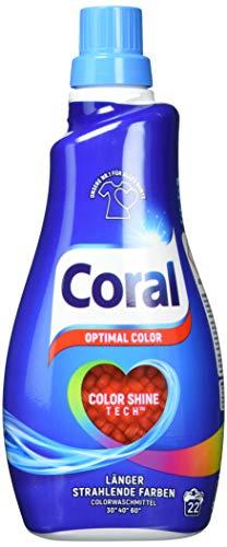 Coral Waschmittel Optimal Color flüssig (1 x 22...