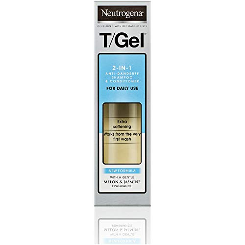 Neutrogena T/Gel 2 in 1 Dandruff Shampoo, 250 ml