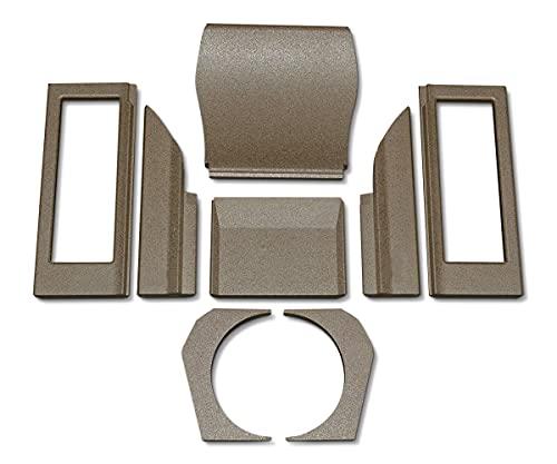 Feuerraumauskleidung für Dan Skan Modo Kaminöfen - Vermiculite - 8-teilig