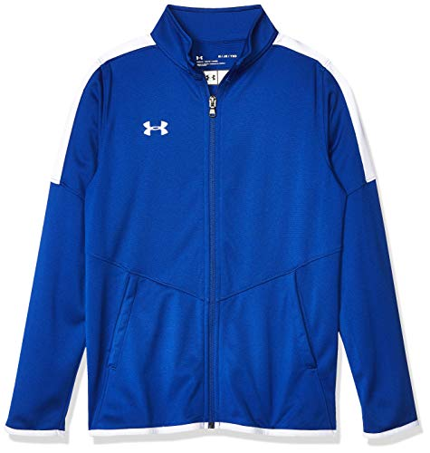 Under Armour Boys' UA Rival Knit Jacket Youth X-Large Blue