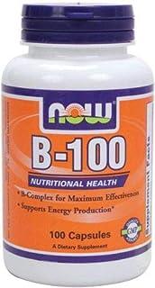 NOW Foods B-100 Caps 100 Capsules
