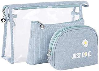 SPAHER Beauty Case da viaggio Borsa da toilette da Donna Organizzatore da trucco per ragazze Set di valigie per cosmetici ...