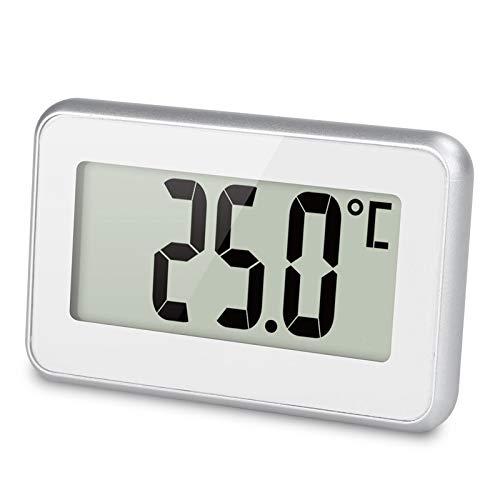 Termómetro del refrigerador del hogar de la alta precisión con el imán supermercado congelador alarma helada