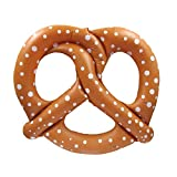 """TG,LLC Treasure Gurus Large 48"""" Inflatable Pretzel Swimming Pool Water Float Blow Up Toy Party Favor Raft Novelty Prop"""