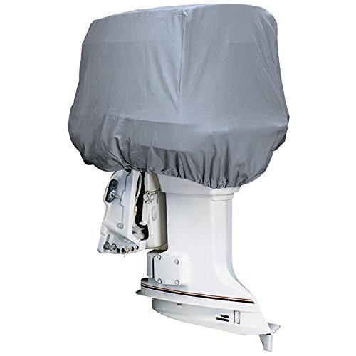 MARINE  Road Ready153; Cotton Heavy-Duty Canvas Cover f/Outboard Motor Hood 115-225HP /  / - Attwood 10544