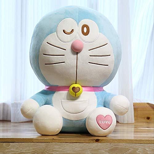 knuffels,Blauwe Dikke Man Kussen Pop, Knuffel, Verjaardagscadeau Voor Kinderen Dag Pop 40cm A