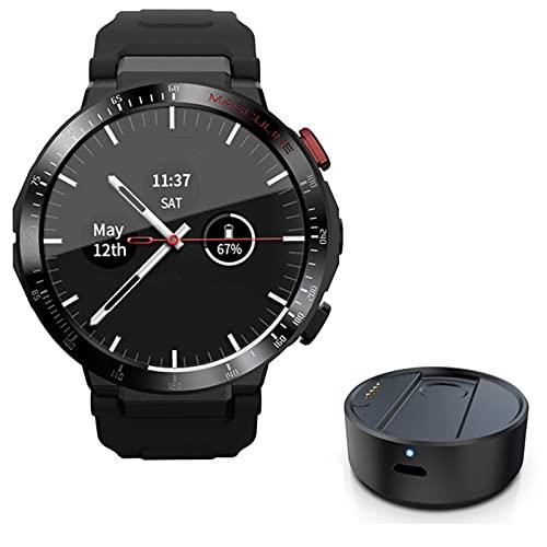 ACY Android reloj inteligente teléfono 4G red WiFi 1.6 pulgadas Full Circle pantalla táctil smartwatch2g 16g hombres cámara video llamada GPS,B