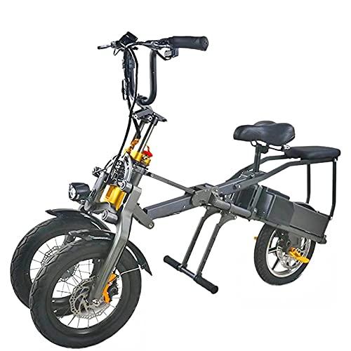 De múltiples fines Portátil de 14 pulgadas tres ruedas triciclo eléctrico adultos...