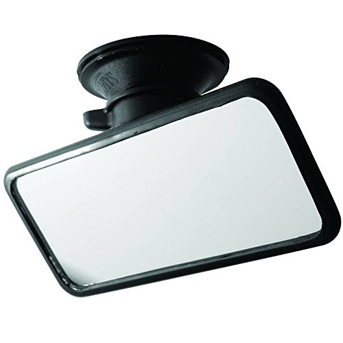Summit RV-34 Small Flat Glass Mirror with Suction Pad