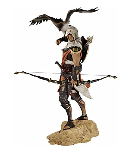 AMZYY Assassin Creed Origins Figuren Modell Spielfigur Bayek Guardian Assassin Master Partner Senu PVC Modell Statue Dekoration Charakter