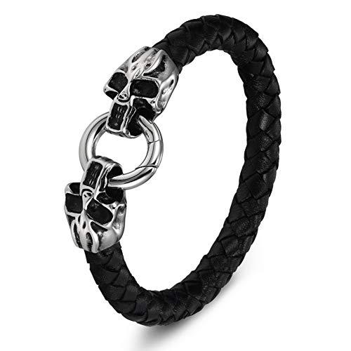 WXYBF armband voor heren, sieraden, slangenketting van roestvrij staal, met magneetsluiting