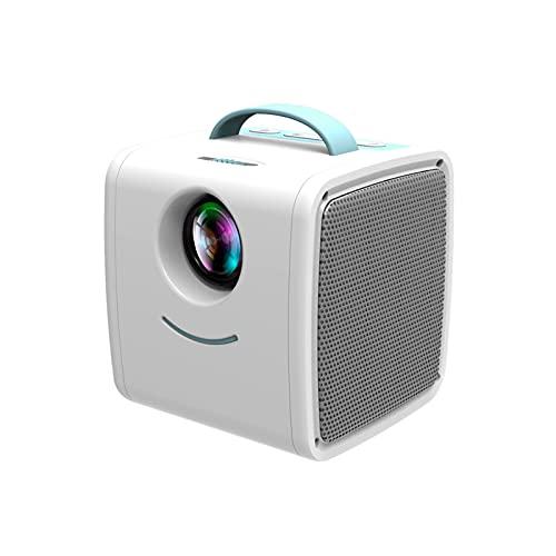 HKJZ SFLRW Mini Proyector, Proyector Portátil, Video Smart LED Pequeño Proyector Teléfono para Dormitorio
