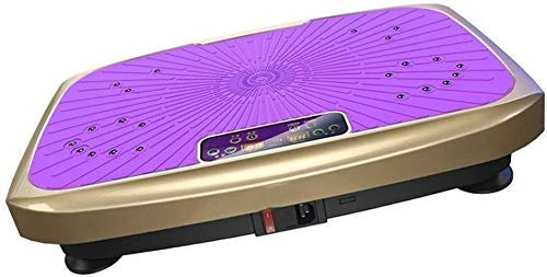 SUYING Vibratoria Máquina Pérdida Power Board Peso, Máquina Cuerpo temblando Equipo de Entrenamiento for el Ministerio del Interior, Rosa DYWFN (Color : Purple)