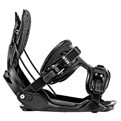 Medium fits 7-9, Large Fits 9-11, XL fits 11-14 Flows Patented Rear Entry Design Upgraded new LSR ratchets for easier size and fit adjustment Padded Hi-Back and foot bed All mountain design and flex.