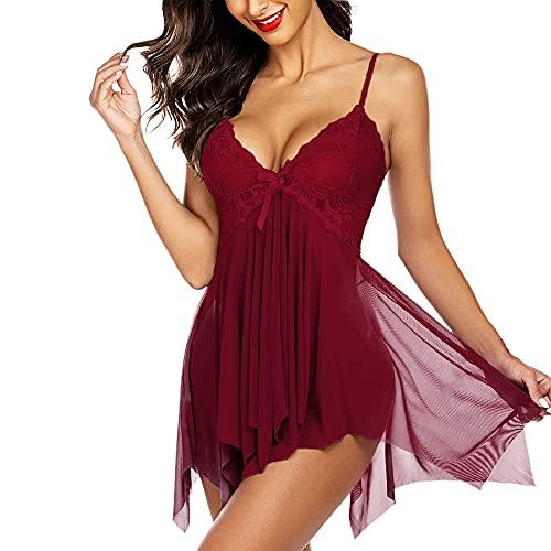 KITTYBEES Nightwear for Girls-Babydoll Lingerie for Women - Women's Babydoll...